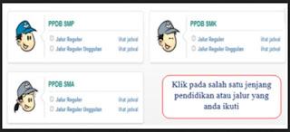 Cara Cek / Melihat Pengumuman Hasil Seleksi PPDB Online