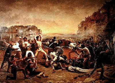 Texas Rising fall of the alamo Clip Art