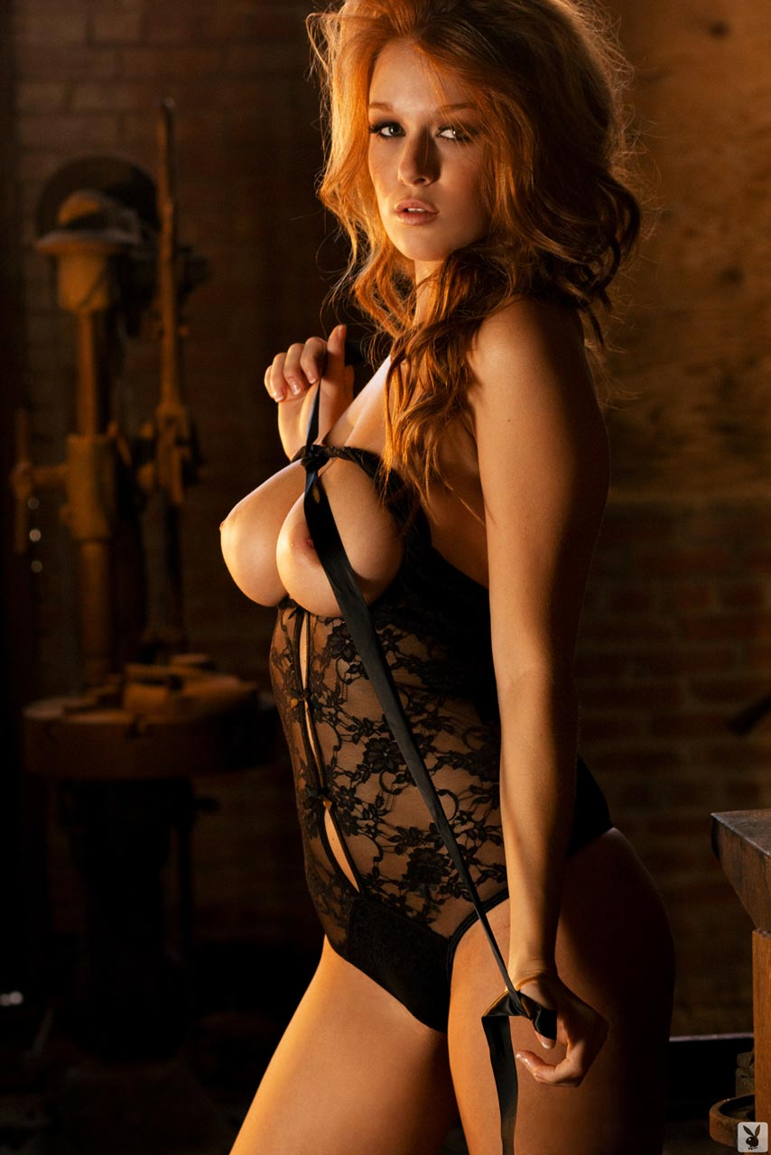 Leanna Decker In Lacy Lingerie