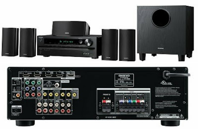 5.1-Channel Home Theater Speaker/Receiver Package