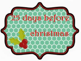 25 days before christmas