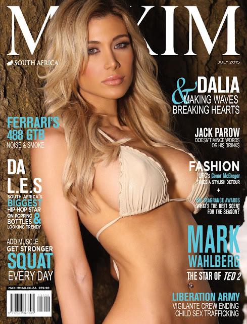 Dalia Elliot - Maxim South Africa, July 2015