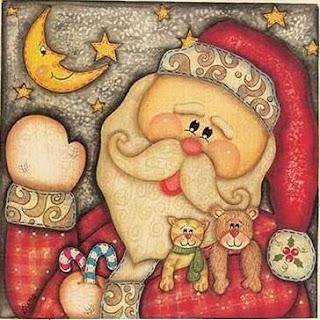 Dibujos santa claus para imprimir - Motivos navidenos dibujos ...