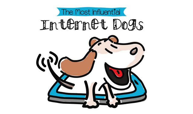 The Most Influential Dogs on the Internet