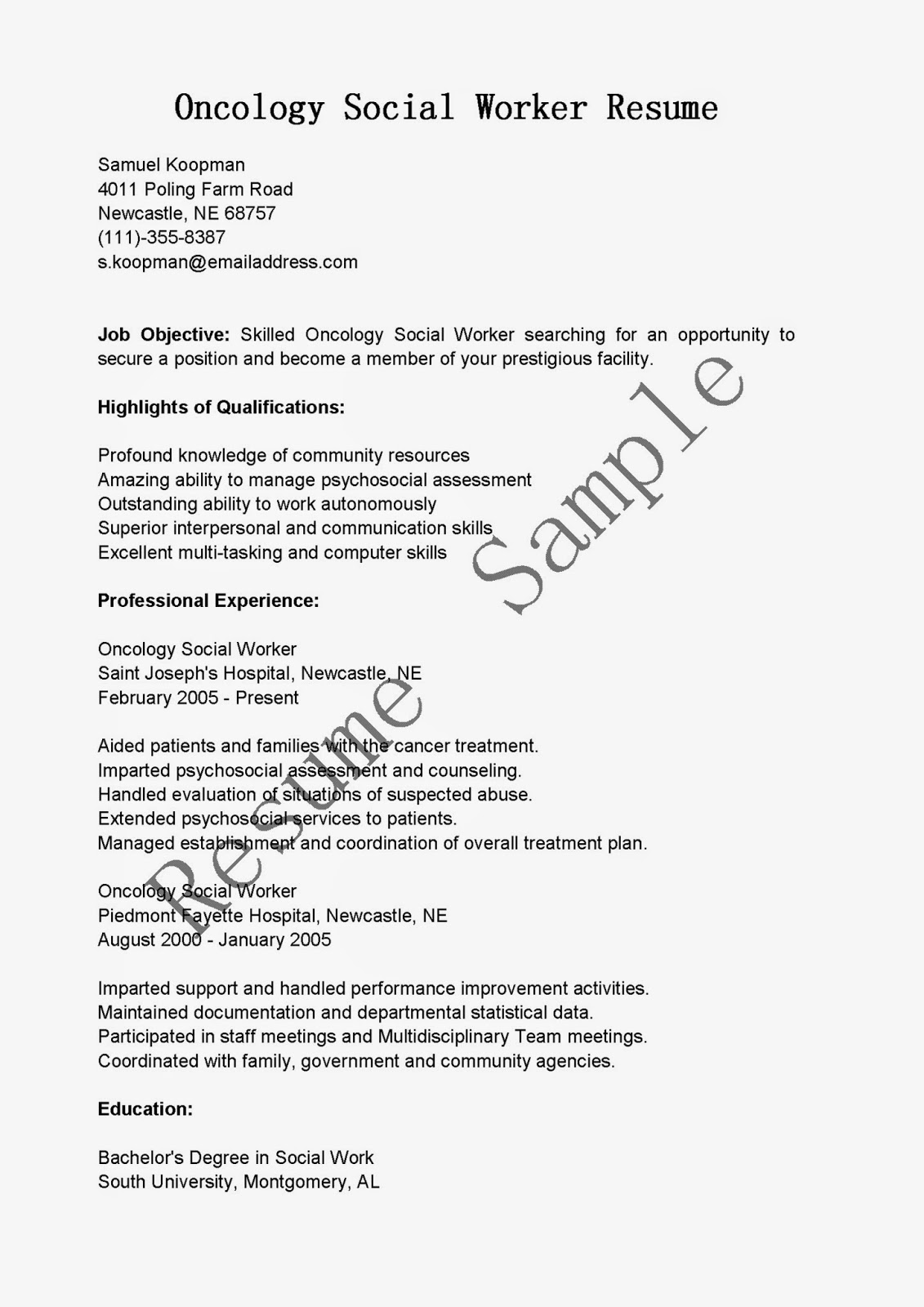 100 oncology nurse resume sample 100 cover letter on a