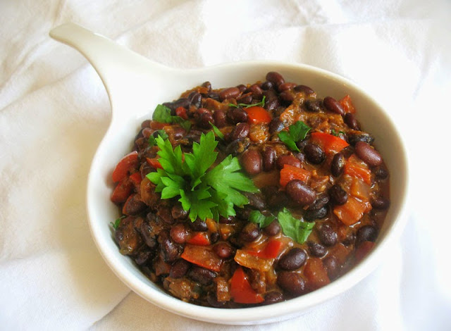 Spicy Cuban Black Beans
