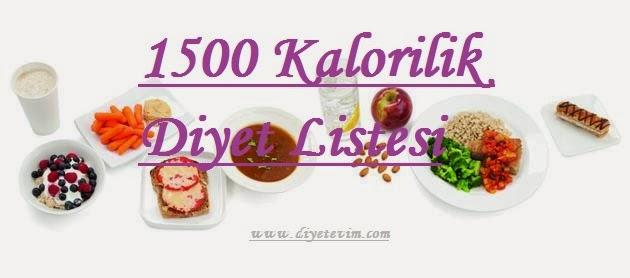 kalori diyetleri