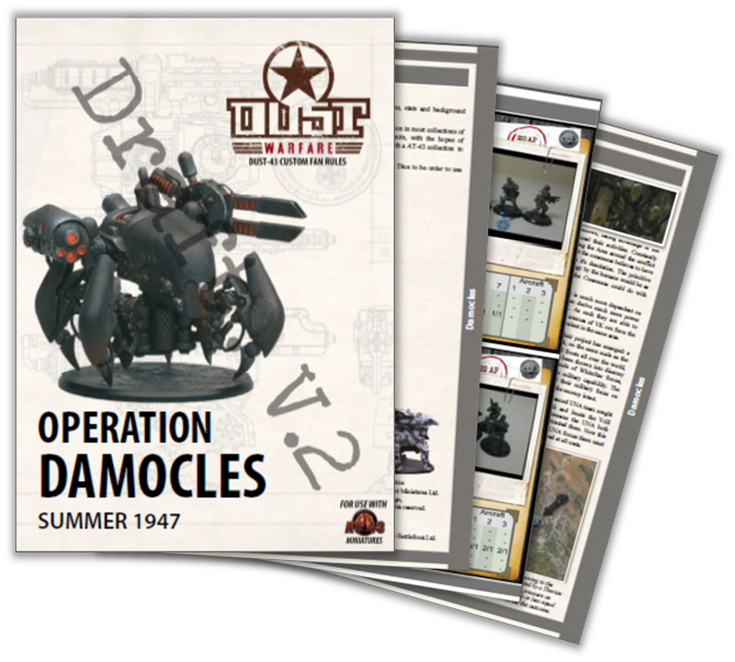 Dust Warfare - Campaign Book - Operation Damocles