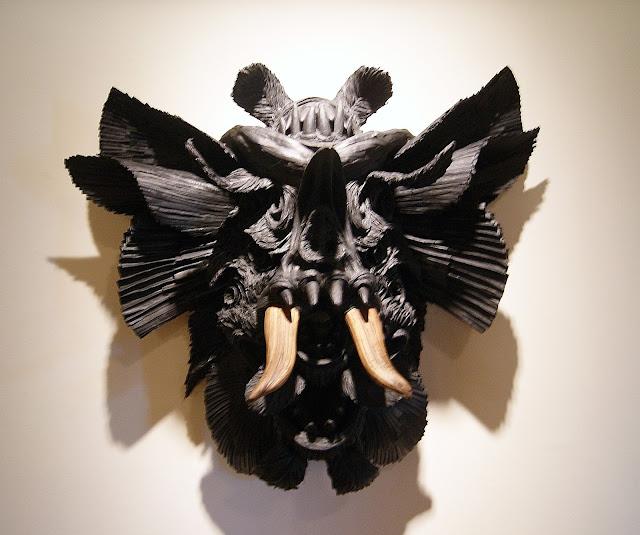Hard Twist 10: Memory textile art exhibit at Gladstone Hotel in Toronto, culture, artmatters, exhibition, event, ontario, canada, The Purple Scarf, MelaniePs, Doppelganger, Nickolas Lascot