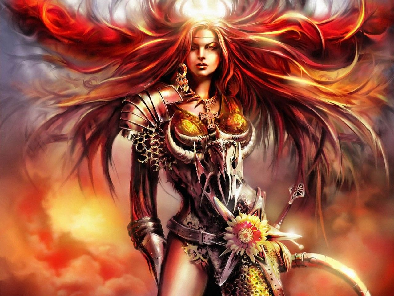 fantasy women art wallpapers