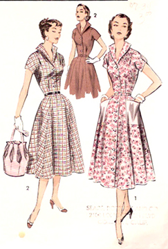 early 1950s fashion - photo #4