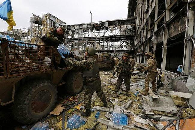 Донецкий аэропорт сейчас. Фото