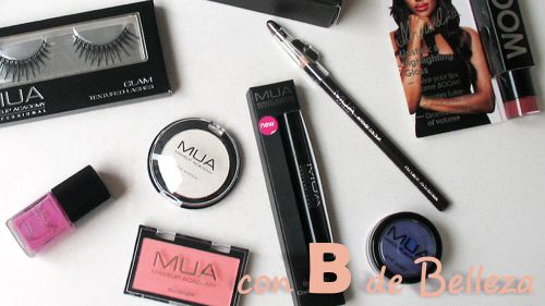 Productos recomendados MUA