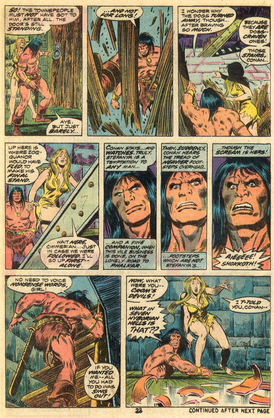Conan the Barbarian (1970) Issue #46 #58 - English 14