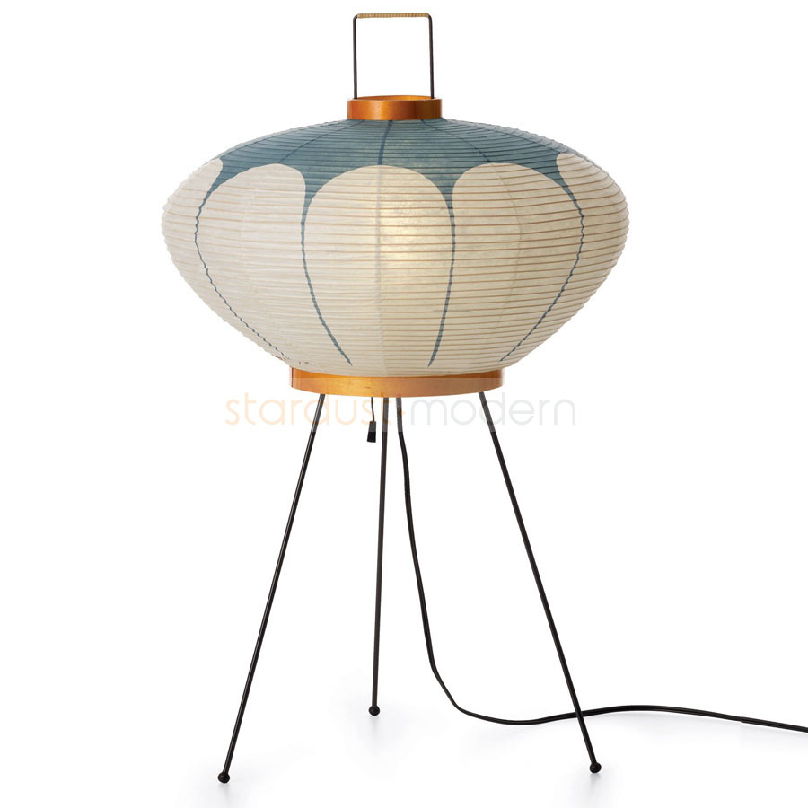 9ad modern table lamp designed by isamu noguchi from akari for Home decor s13 9ad