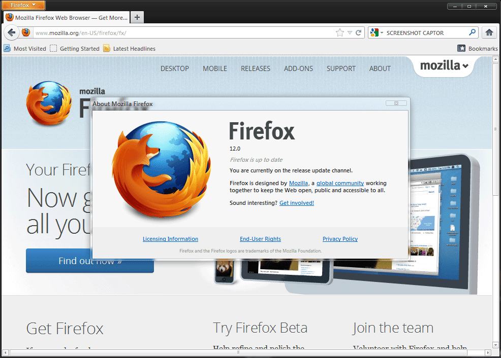 how to download separate firefox