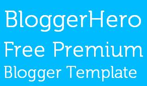 BloggerHero Template