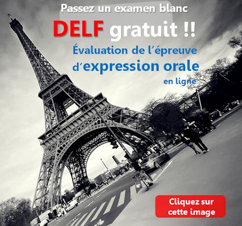 Évaluation DELF gratuite