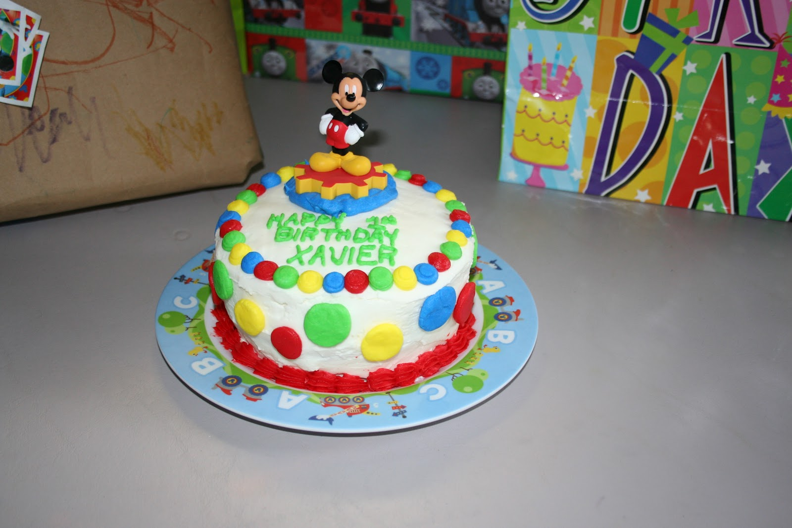 The X Files: Our Family Blog: Xavier turns 1!!!