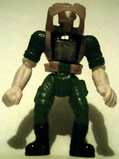 View of Major Chip Hazard action figure from Burger King with vest up