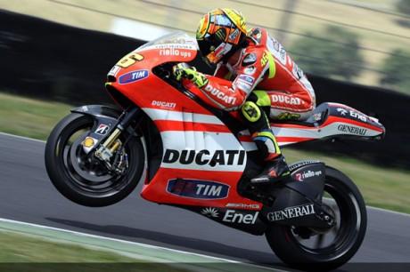 Valentino Rossi Ducati Desmosedici GP12
