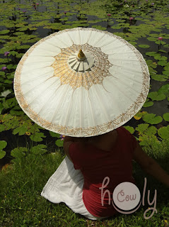White Parasol Etsy HolyCowproducts