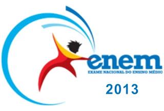 ENEM 2013 INSCRIÇÕES SITE OFICIAL