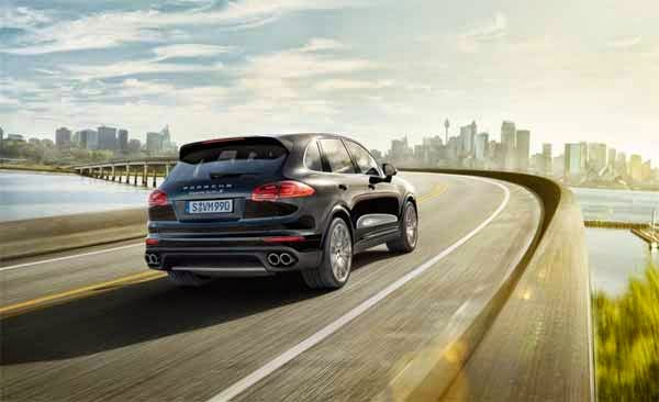 2016 Porsche Cayenne Turbo S Black Review