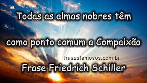 Frase Friedrich Schiller
