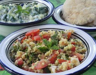 Taboulé libanais au millet naturellement sans gluten…