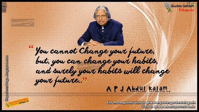 Inspirational Quotes from Abdul Kalam