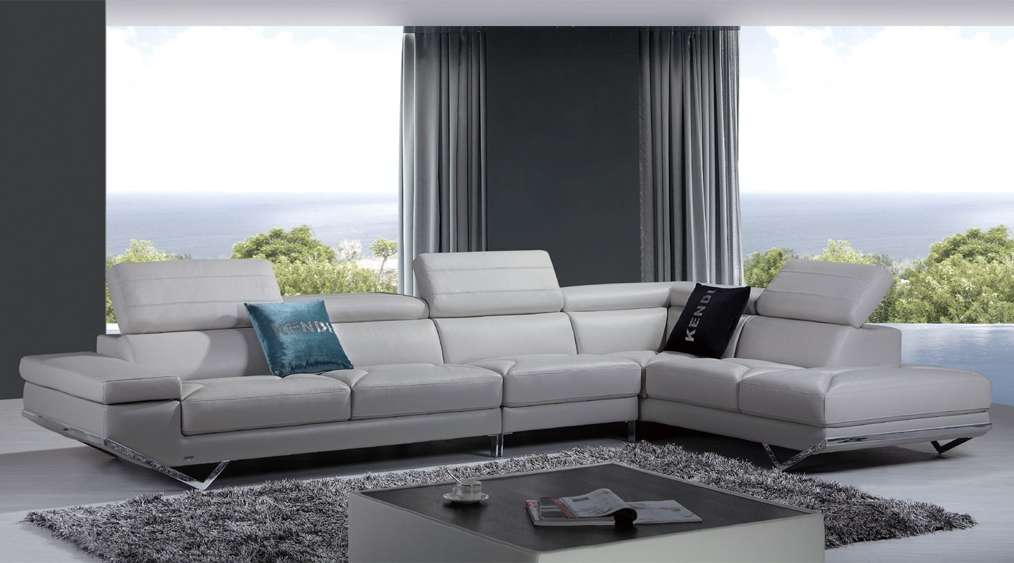 Italian Leather Living Room Furniture Modern Leather Sectional Sofa Living Room Furniture Top Rated