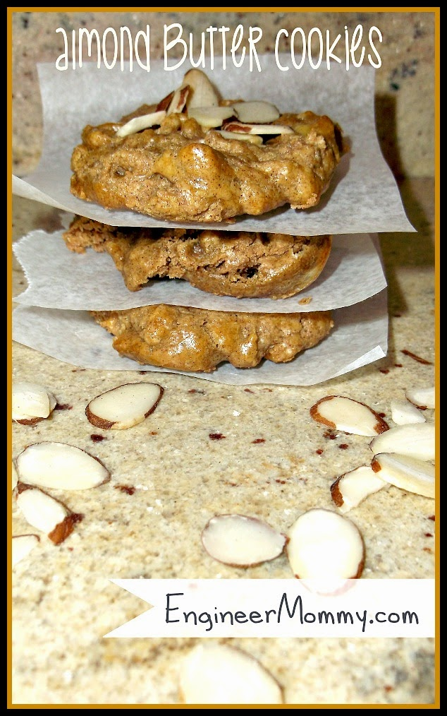 cookie recipe; almond cookies #cookies Ducks 'n a Row