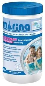 Ma piscine oxygene actif marina for Produit piscine oxygene actif