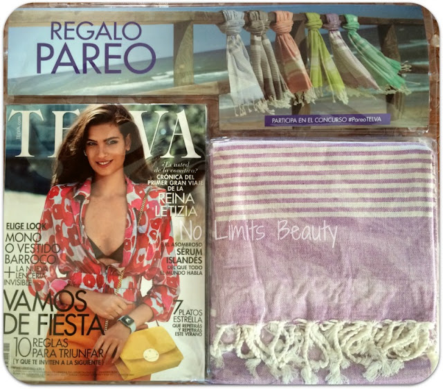 Regalos revistas julio 2015: Telva