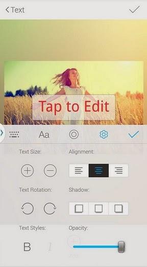 edit foto menambahkan text di android
