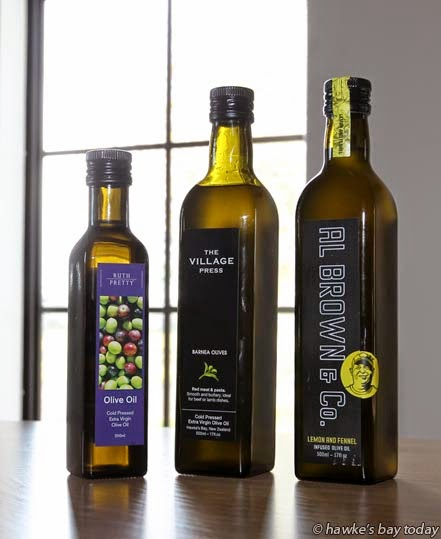 Finished product - New site for Village Press, exporters of olive oil, in Kirkwood Rd, Flaxmere, Hastings. photograph