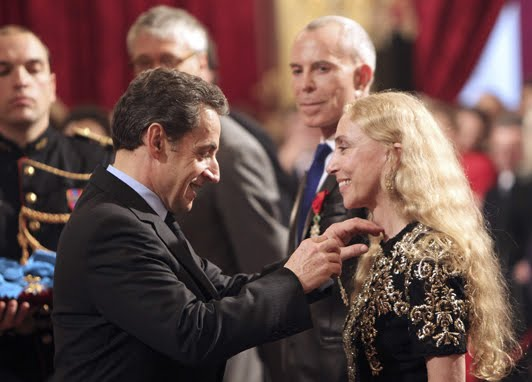 Franca Sozzani Nicolas Sarkozy