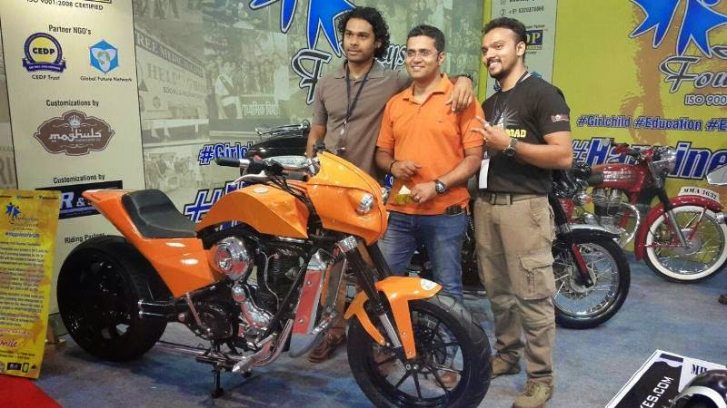 Moghuls Motorcycle Co and Azyshaa Foundation