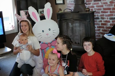 Reef and the Cousins Enjoying Easter 2014
