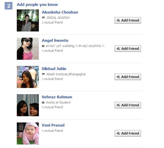 how to find hidden friends list on facebook