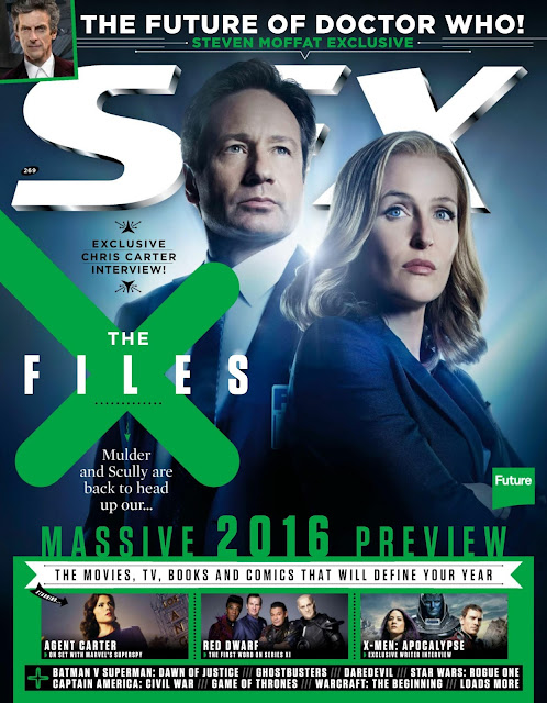 Actress, @ Gillian Anderson - SFX, February 2016