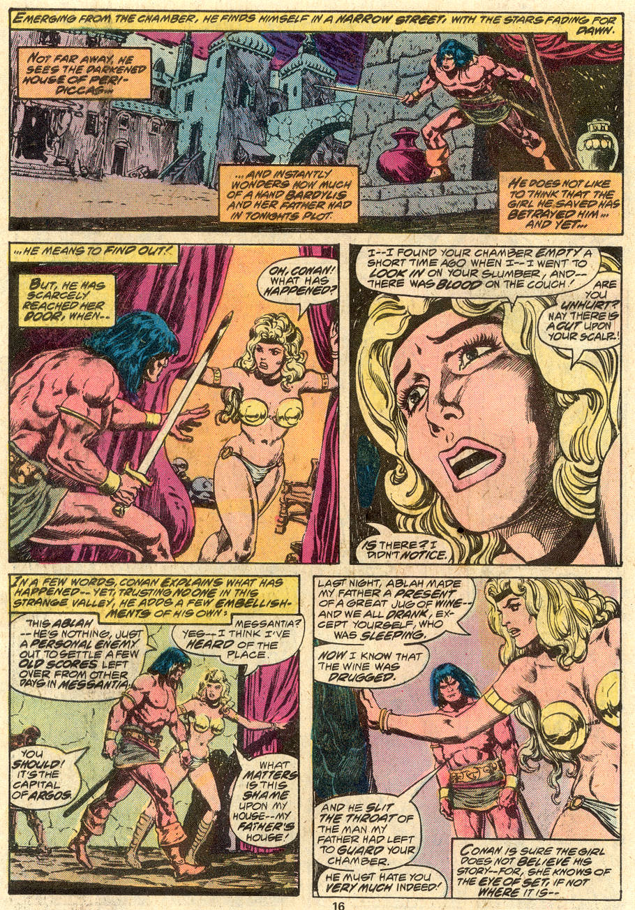Conan the Barbarian (1970) Issue #80 #92 - English 11