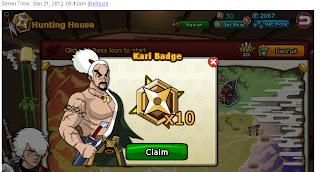 Trik Mendapatkan 10 Kari Badged / Day
