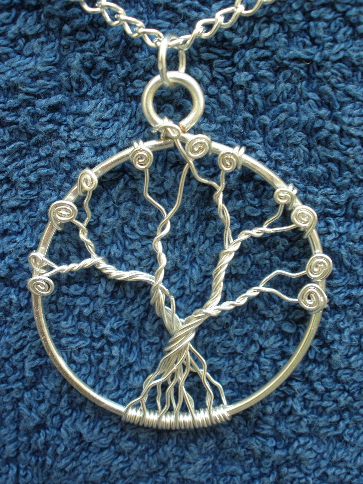 Chloe Louise Handmade Jewellery: How to: Make a Tree of Life Pendant