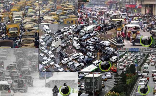 10 Kota dengan Lalu Lintas Jalan Raya Terburuk di Dunia