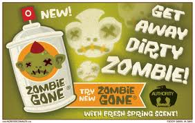 This blog brought to you by Zombie gone