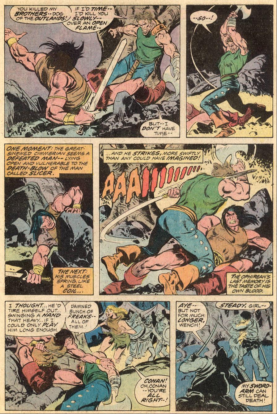 Conan the Barbarian (1970) Issue #53 #65 - English 17