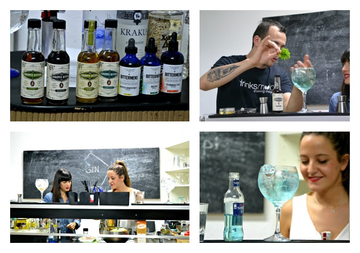 Taller de vodka&tonics en Drinksmotion