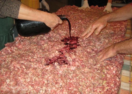 Kaedah Tradisional Buat Sosej Ala Itali